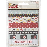 "Say Cheese II Washi Paper Tape 3""X4"" Sheets 24/Pkg-Designer"
