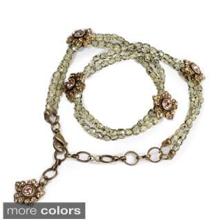 Sweet Romance Jasmine Flowers Wrap Bracelet