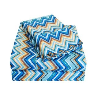 Superior Wrinkle Resistant Zig-Zag Sheet Set