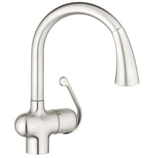 Bon Grohe Ladylux Ladylux Pull Out Spray Stainless Steel Brushed