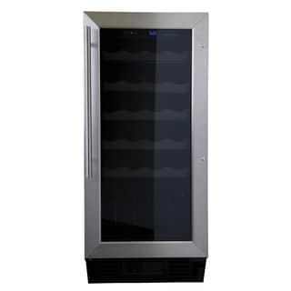 Haier HVCE15BBH Built-In or Freestanding 26-Bottle Wine Cellar (Refurbished)