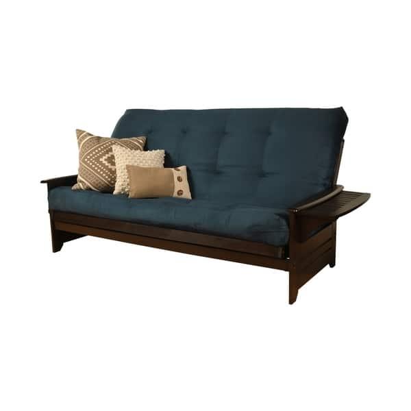 Porch Den Desoto Hardwood Queen Size Futon Bed With