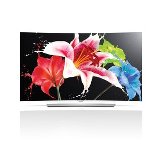 LG 55EG9600 55-inch 4K 3D Smart Curved OLED UHDTV with webOS 2.0 - With Free Solidmounts ST-600 Til