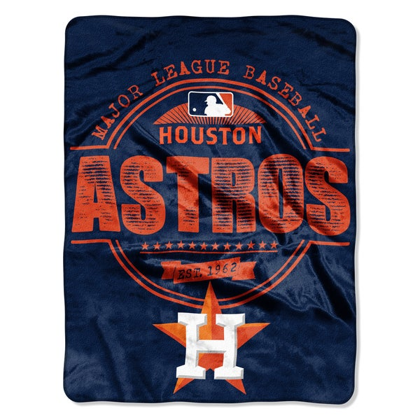 Astros Structure Micro Throw Blanket