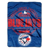 Blue Jays Structure Micro Throw Blanket