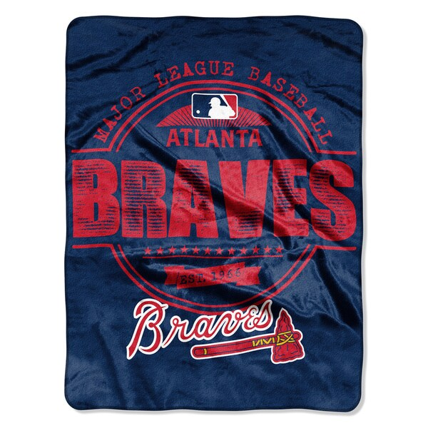 Braves Structure Micro Throw Blanket
