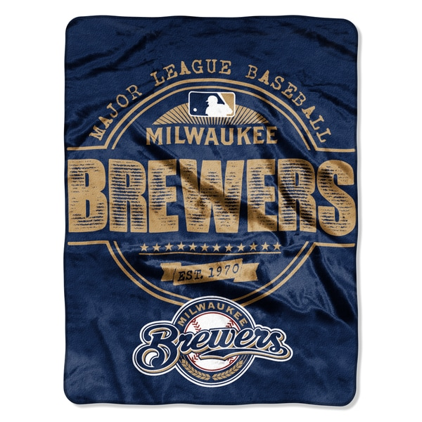 Brewers Structure Micro Throw Blanket