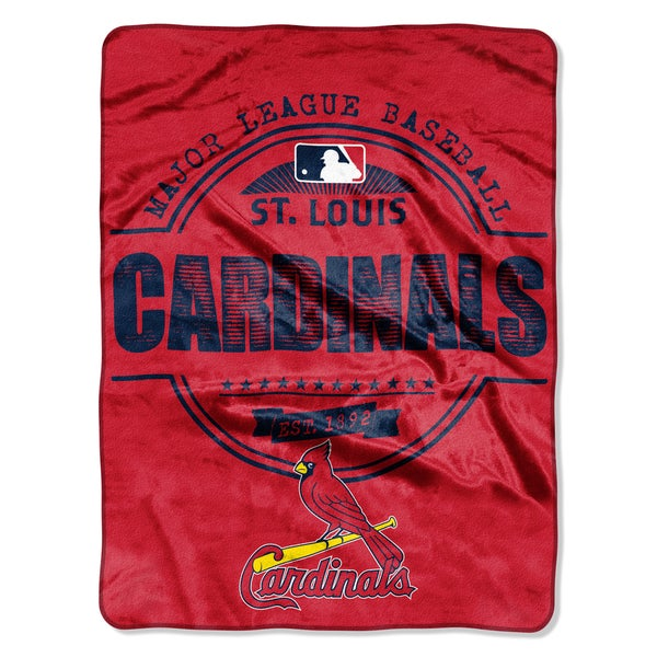 Cardinals Structure Micro Throw Blanket