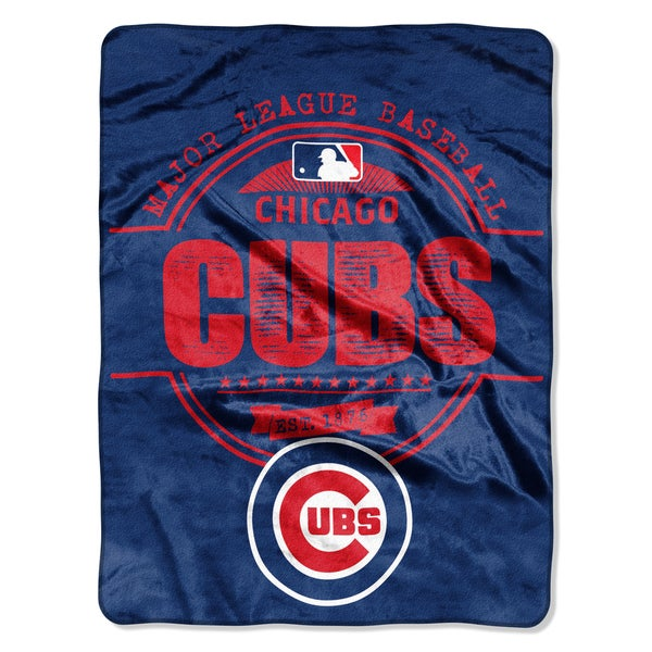 Cubs Structure Micro Throw Blanket