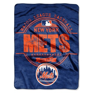 Mets Structure Micro Throw Blanket