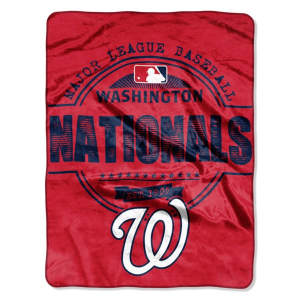 Nationals Structure Micro Throw Blanket