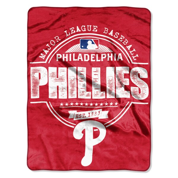 Phillies Structure Micro Throw Blanket