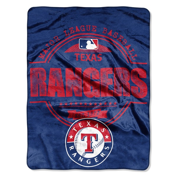 Rangers Structure Micro Throw Blanket