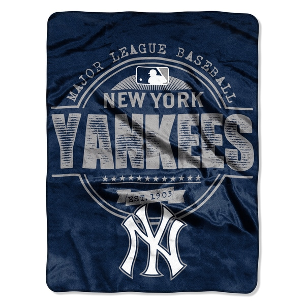 Yankees Structure Micro Throw Blanket