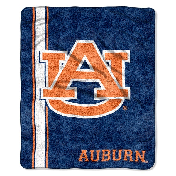 Auburn Sherpa Throw Blanket Throw Blanket
