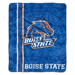 Boise State Sherpa Throw Blanket