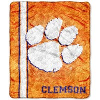 Clemson Sherpa Throw Blanket