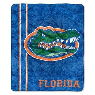 Florida Sherpa Throw Blanket
