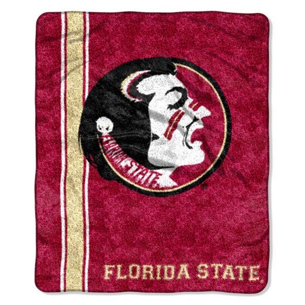 Florida State Sherpa Throw Blanket