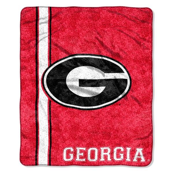 Georgia Sherpa Throw Blanket
