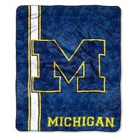 Michigan Sherpa Throw Blanket