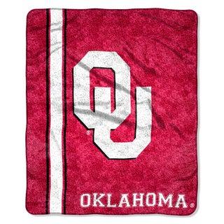 Oklahoma Sherpa Throw Blanket