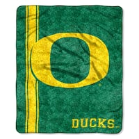Oregon Sherpa Throw Blanket