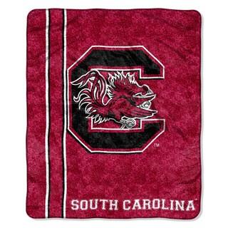 South Carolina Sherpa Throw Blanket