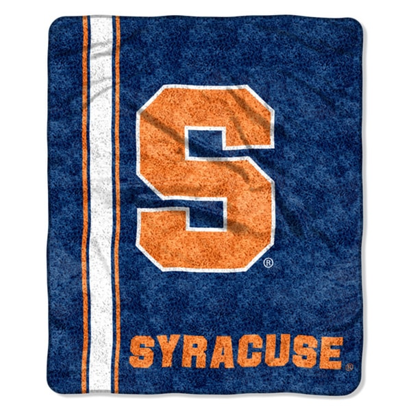 Syracuse Sherpa Throw Blanket