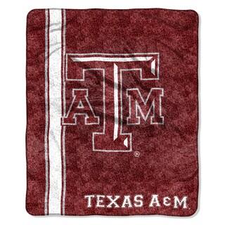 Texas A&M Sherpa Throw Blanket