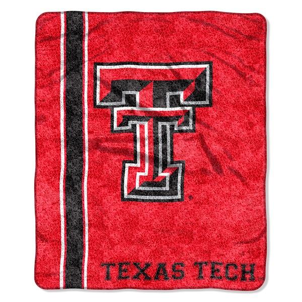 Texas Tech Sherpa Throw Blanket