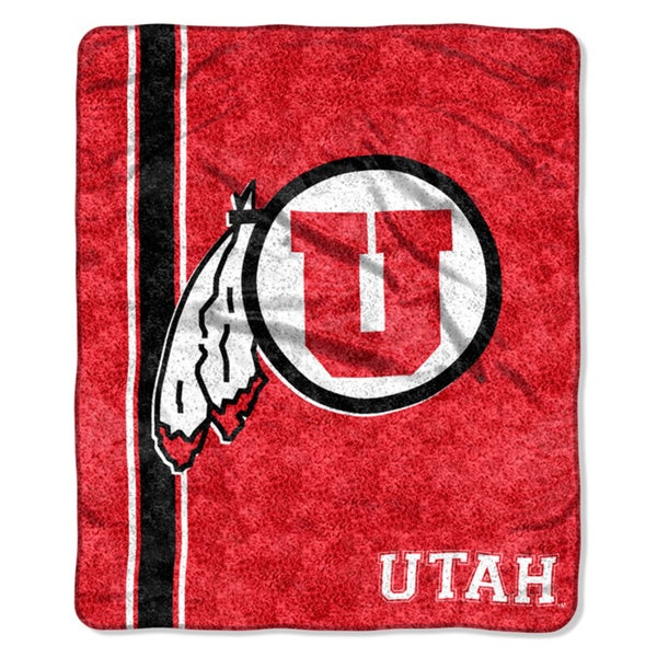 Utah Sherpa Throw Blanket