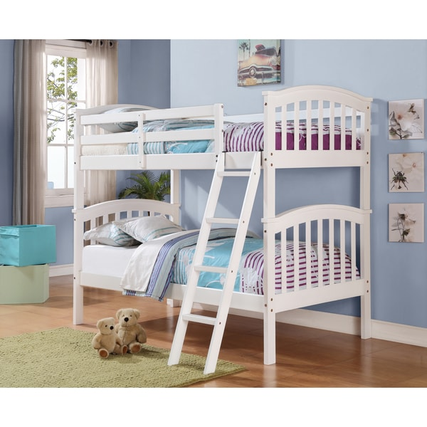 Shop Donco Kids Colombia Twin Over Twin Bunk Bed On Sale Free