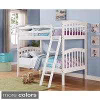 Donco Kids Colombia Twin over Twin Bunk Bed