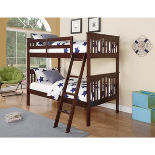 Donco Kids Franklin Twin over Twin Bunk Bed