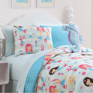 Shop Vcny Mermaid Comforter Set Free Shipping Today