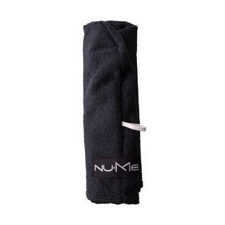 NuMe Black Microfiber Hair Towel