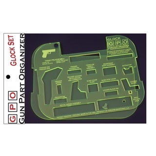 Glock Gun Part Organizer, Green