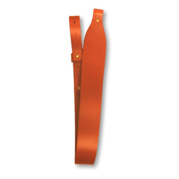 Grizzly Heavy Weight Leather Cobra Rifle Sling, Tan