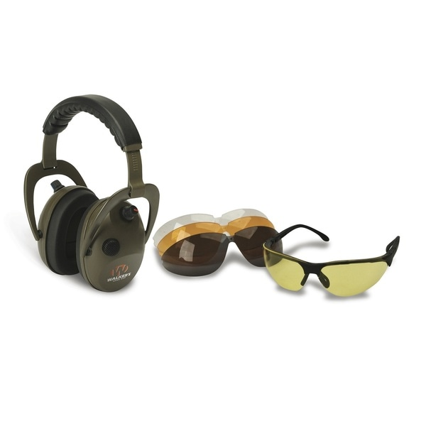 Walkers Alpha Muff/Shooting Glasses Combo