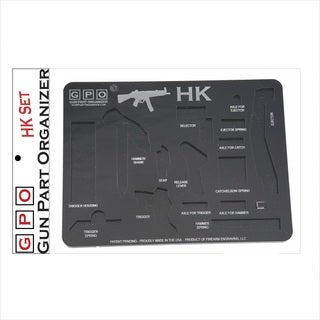 HK Gun Part Organizer, Black