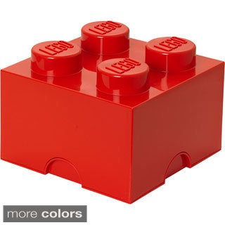 LEGO Bright Red Storage Brick 4