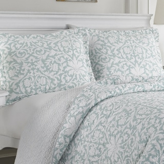 Link to Laura Ashley Mia Reversible 3-piece Cotton Quilt Set Similar Items in Quilts & Coverlets
