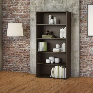 Large Adjustable 5-shelf Bookcase