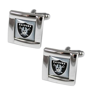 NFL Team Logo Square Cufflinks (More options available)