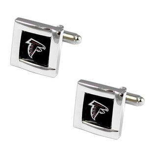 NFL Team Logo Square Cufflinks