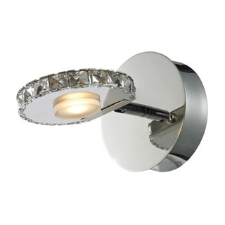 Spiva 1-light Polished Chrome Bath Fixture
