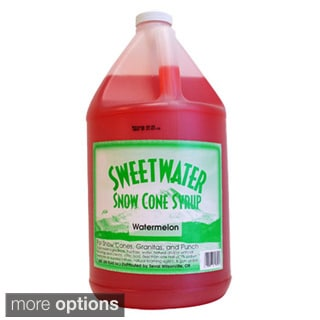 SweetWater Snow Cone Syrup 1-gallon Bottle (Case of 4)