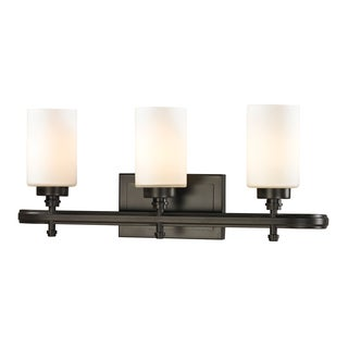Dawson 3-light Oil Rubbed Bronze Bath Fixture
