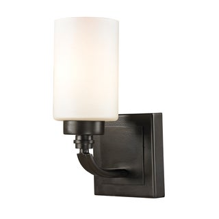Dawson 1-light Oil Rubbed Bronze Bath Fixture